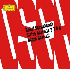 Shostakovitch - String Quartets 3, 7 & 8