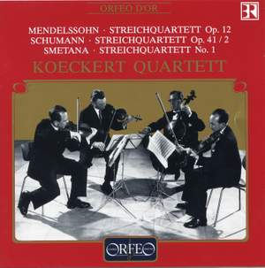 Mendelssohn: String Quartet No. 1 in E flat major, Op. 12, etc.