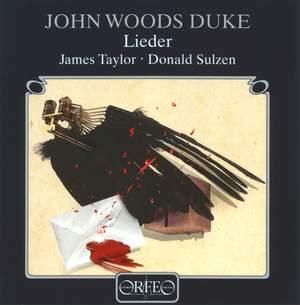John Woods Duke: Lieder