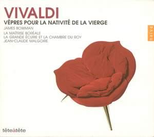 Vivaldi: Vespre pour La Nativite de la Vierge