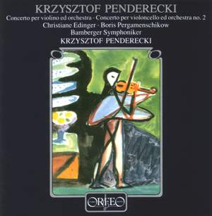 Penderecki: Violin Concerto No. 1 & Cello Concerto No. 2 Product Image