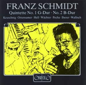 Schmidt: Piano Quintet & Clarinet Quintet