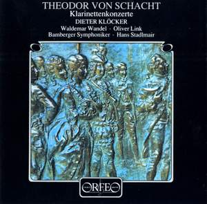 Schacht: Concertos for clarinet