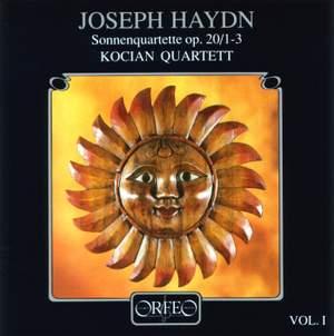 Haydn: String Quartets Op. 20 Nos. 1-3