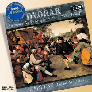 Dvorak: Symphonies Nos. 8 & 9 Product Image