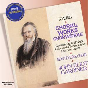 Brahms - Choral Works Product Image