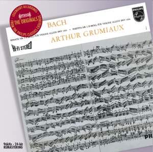J S Bach - Sonatas & Partitas Product Image