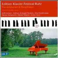 Ruhr Piano Festival Edition Vol. 9: Transcriptions & paraphrases