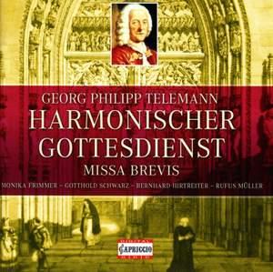Telemann: Harmonischer Gottesdienst, Missa brevis