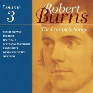 The Complete Songs of Robert Burns, Volume 3