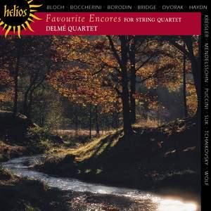 Favorite Encores for String Quartet