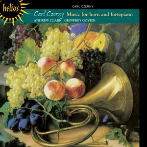 Carl Czerny: Music for horn and fortepiano