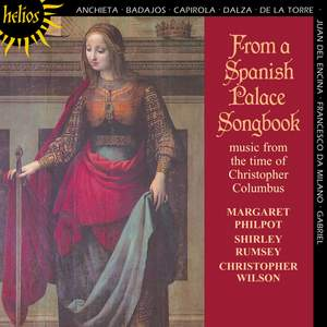 From a Spanish Palace Songbook