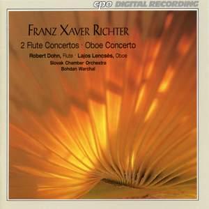 Franz Xaver Richter: Flute Concertos & Oboe Concerto