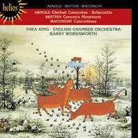 Arnold: Clarinet Concertos