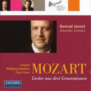 L. Mozart/W.A. Mozart/F. Mozart - Lieder from Three Generations