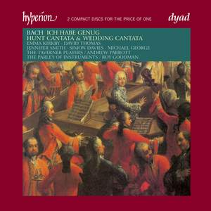 JS Bach: Cantatas Nos. 82, 202 & 208