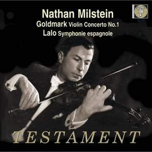 Goldmark: Violin Concerto No. 1 & Lalo: Symphonie espagnole