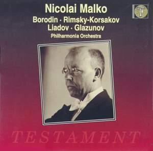 Nicolai Malko conducts Borodin, Rimsky-Korsakov, Liadov & Glazunov