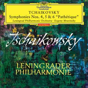 Tchaikovsky: Symphonies Nos. 4, 5 & 6 Product Image
