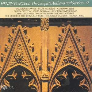 Purcell - The Complete Anthems and Services - 9