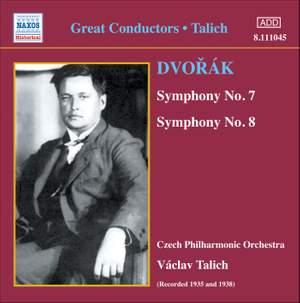 Václav Talich conducts Dvorak's Symphonies Nos. 7 & 8