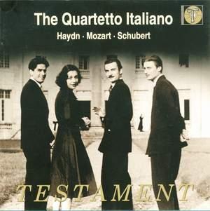 The Quartetto Italiano play Haydn, Mozart & Schubert