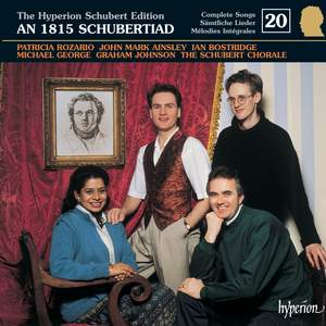 The Hyperion Schubert Edition - Complete Songs Volume 20 Product Image