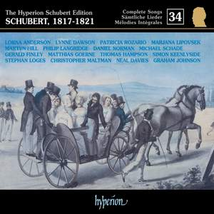 The Hyperion Schubert Edition - Complete Songs Volume 34 Product Image