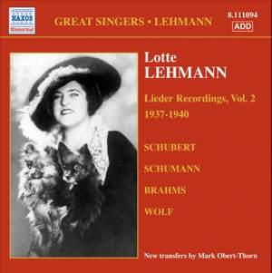 Great Singers - Lotte Lehmann