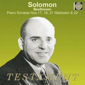 Beethoven: Piano Sonatas Nos. 17, 18, 21 and 22
