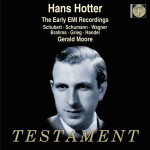 Hans Hotter - The Early EMI Recordings