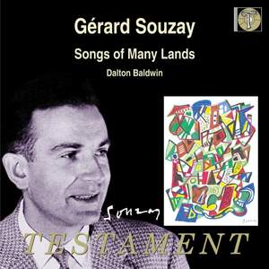 Gérard Souzay - Songs of Many Lands