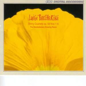 Boccherini: String Quartets, Op. 58 Nos. 1-6