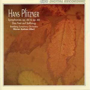 Pfitzner: Symphonies Op. 44 & 46