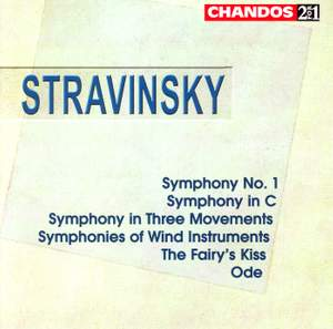 Stravinsky: Symphony No. 1, Symphony in C and other orchestral works Product Image