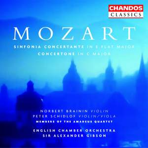 Mozart: Sinfonia Concertante for Violin, Viola & Orchestra in E flat major, K364, etc.