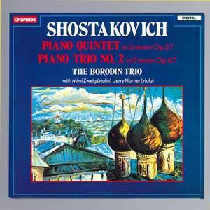 Shostakovich: Piano Quintet & Piano Trio No. 2