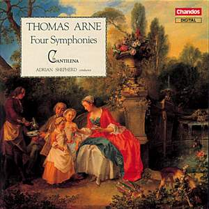 Arne: Four Symphonies