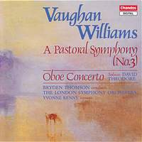 Pastoral Symphony (with Oboe Concerto in A minor)