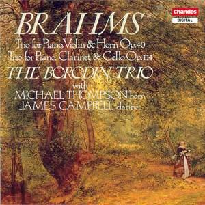 Brahms: Horn Trio & Clarinet Trio