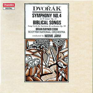 Dvorak: Symphony No. 4 & 10 Biblical Songs