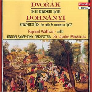 Dvorak: Cello Concerto & Dohnányi: Konzertstück in D major