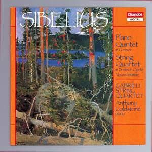 Sibelius: Piano Quintet & String Quartet