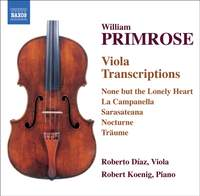 Primrose - Viola Transcriptions