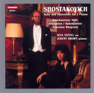 Russian Music for Two Pianos Product Image