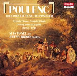 Poulenc - Complete Music for Piano Duo