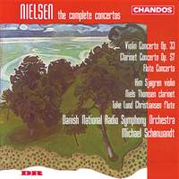 Nielsen: Flute, Clarinet & Violin Concertos