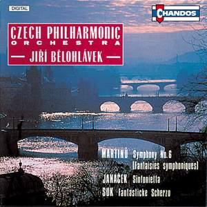 Janacek, Martinu & Suk: Orchestral Works
