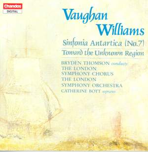 Vaughan Williams: Symphony No. 7 & Toward the Unknown Region